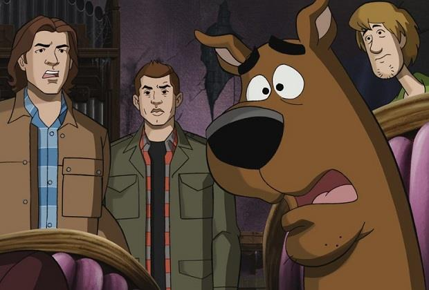 Supernatural: un'immagine dal crossover con Scooby-Doo