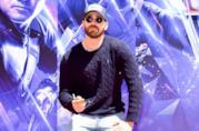 Chris Evans a un evento per Avengers: Endgame
