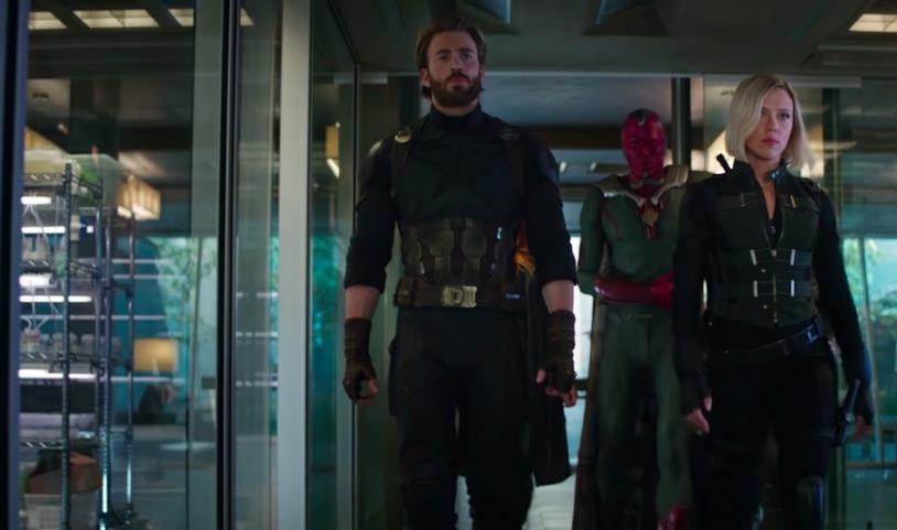 I Vendicatori Uniti nello spot di Infinity War
