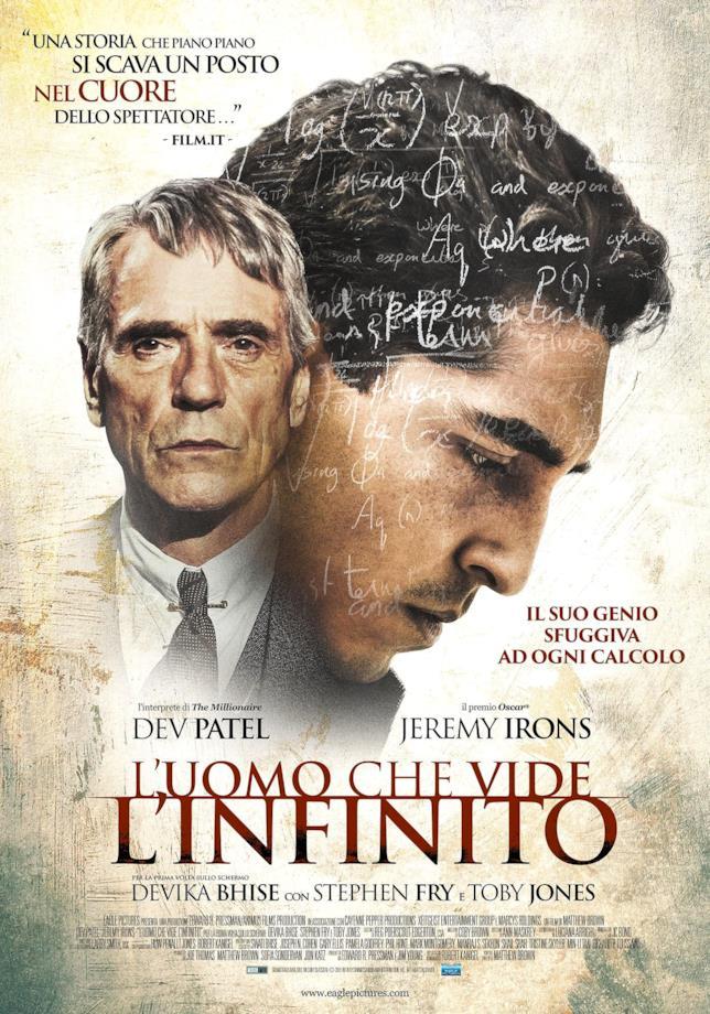 Il poster del film L'uomo che vide l'infinito