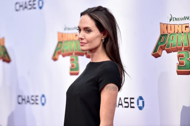 Angelina Jolie sul red carpet di Kung Fu Panda 3