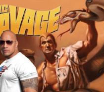 L'ex-wrestler The Rock a fianco dell'eroe pulp Doc Savage di cui vestirà i panni