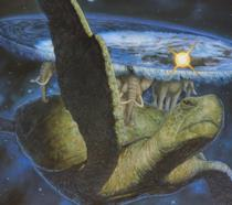 La tartaruga galattica Grande A'Tuin