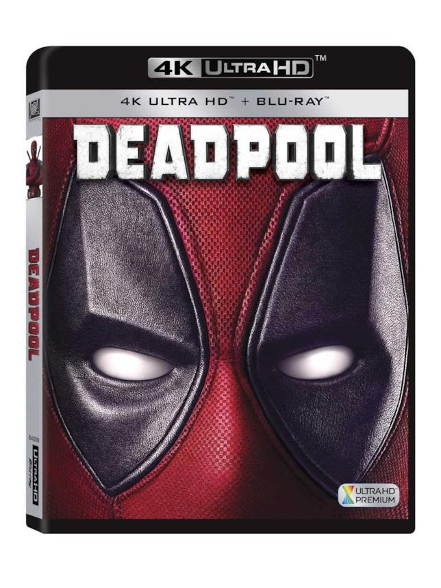 Deadpool in Blu-ray
