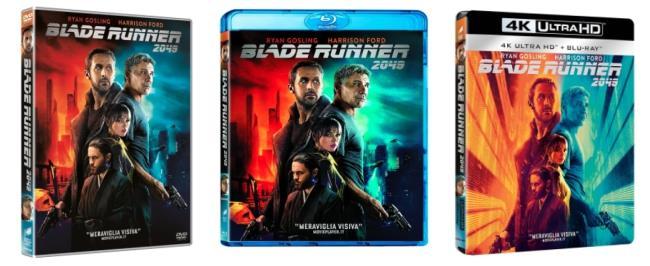 Le edizioni Home Video italiane di Blade Runner 2049