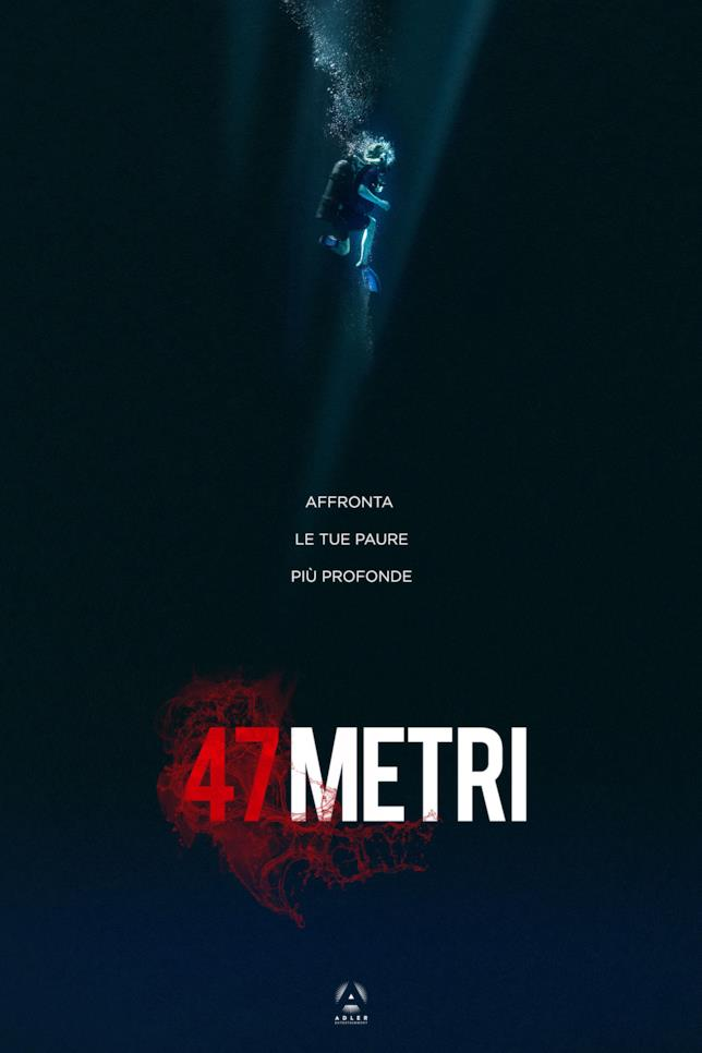 47 Metri, il poster