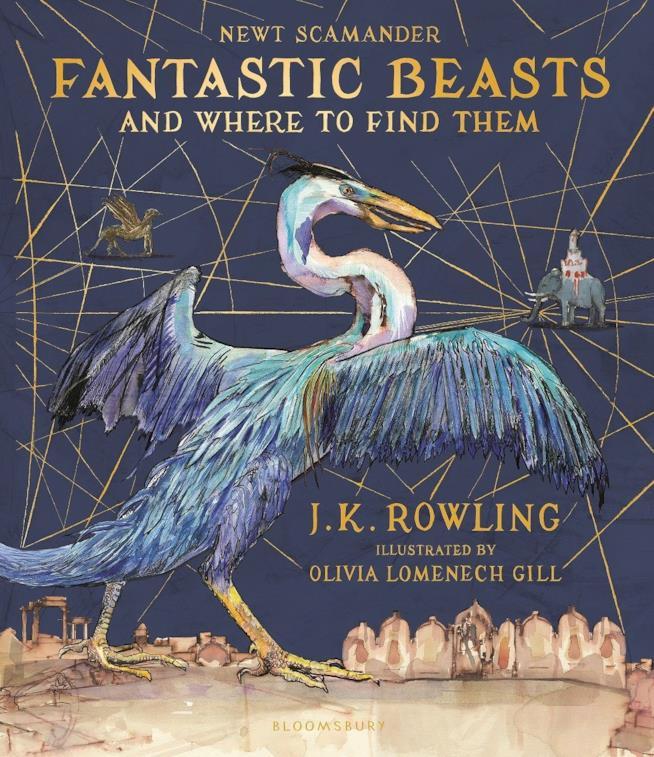 Copertina del libro Animali fantastici illustrato