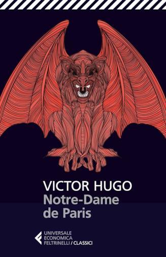 Copertina del romanzo di Victor Hugo Notre-Dame de Parsi