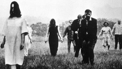 La notte dei morti viventi di Romero