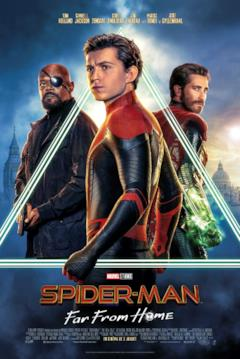 Peter, Nick e Mysterio nel poster francese di Far From Home