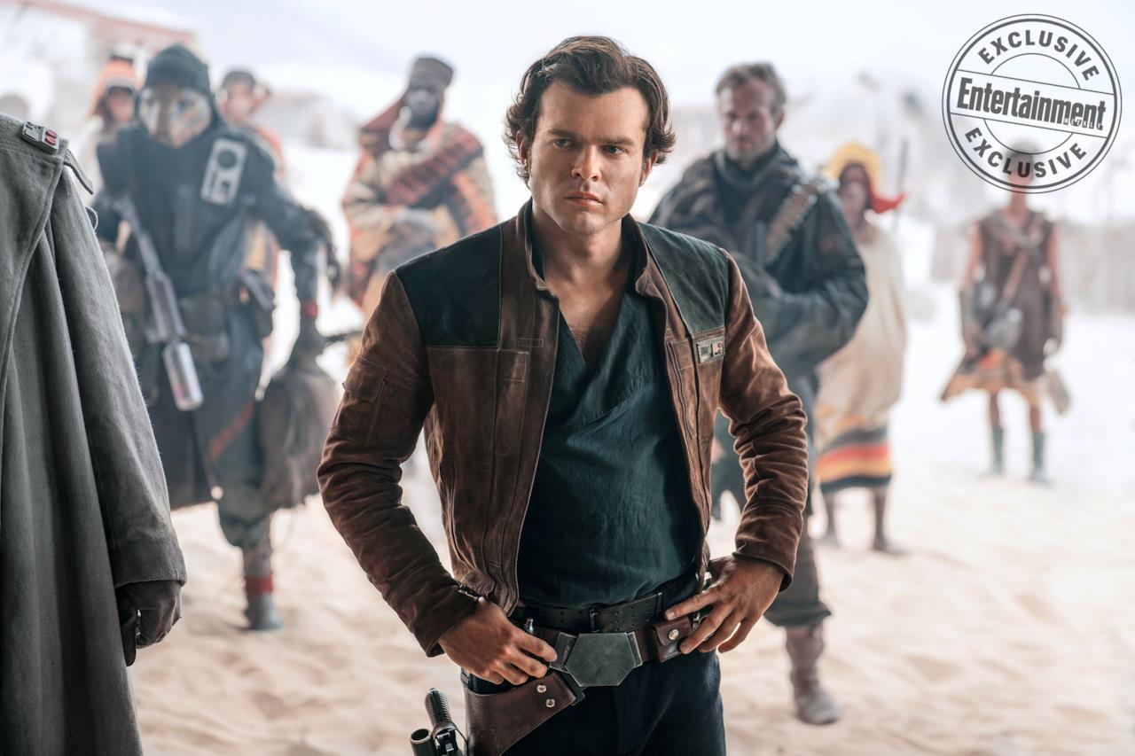 Han Solo in versione space cowboy