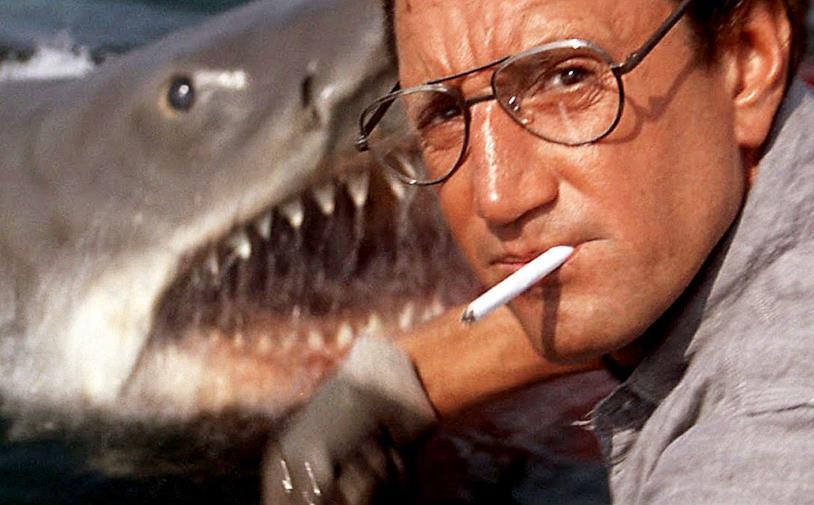 Una scena del film in cui appare il mostro marino