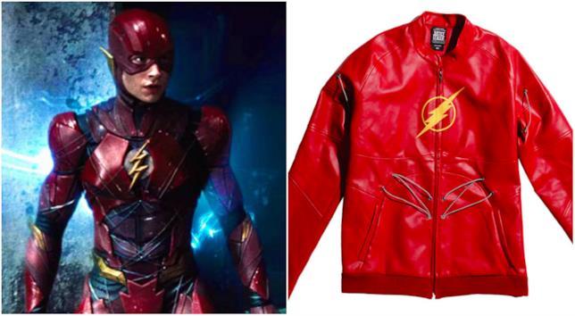 Flash e la giacca a lui ispirata