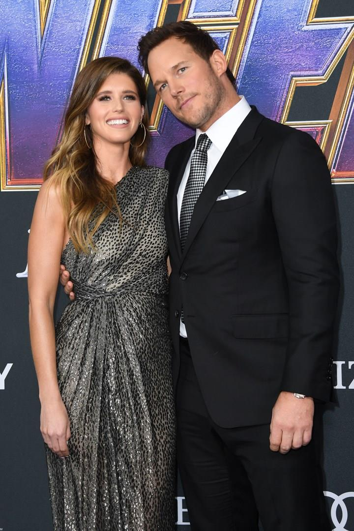 Chris Pratt e Katherine Schwarzenegger alla prima di Avengers