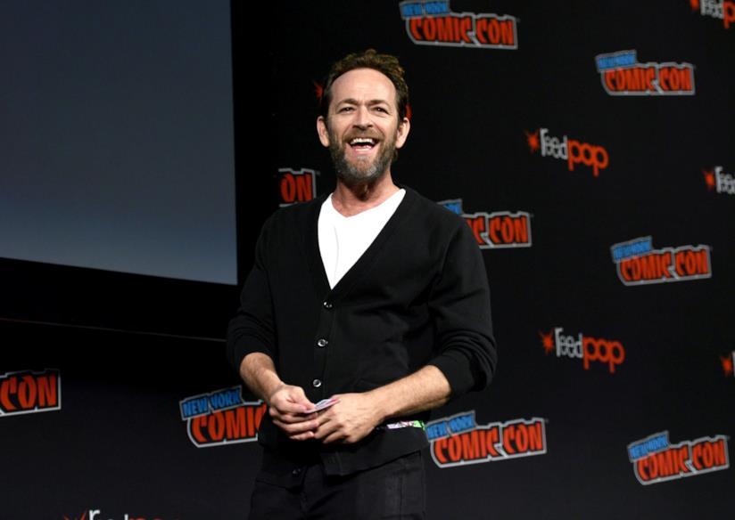 Luke Perry durante il New York Comic Con