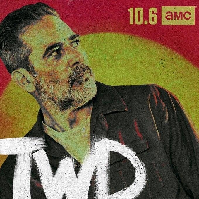 The Walking Dead 10: il character poster dedicato a Negan