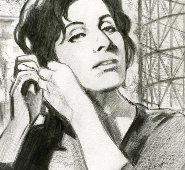 L'icona romana Anna Magnani in versione fumetto