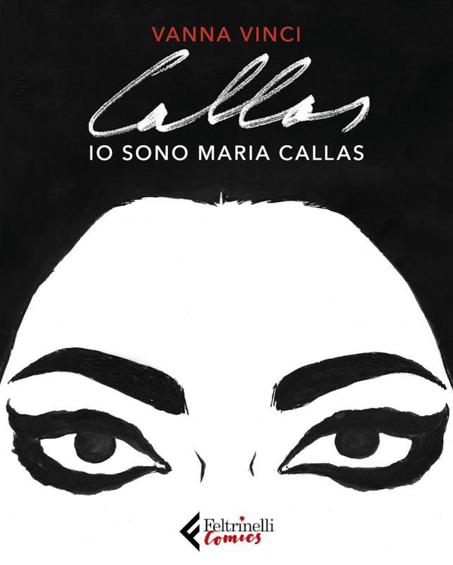 La copertina di Io sono Callas