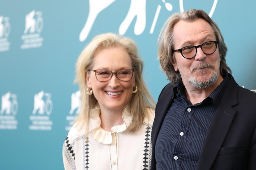 Meryl Streep e Gary Oldman a Venezia 76