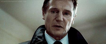Liam Neeson in una scena di Io vi troverò - Taken