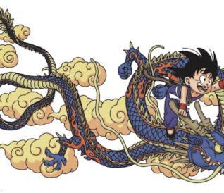 Dragon Ball disegnato da Akira Toriyama