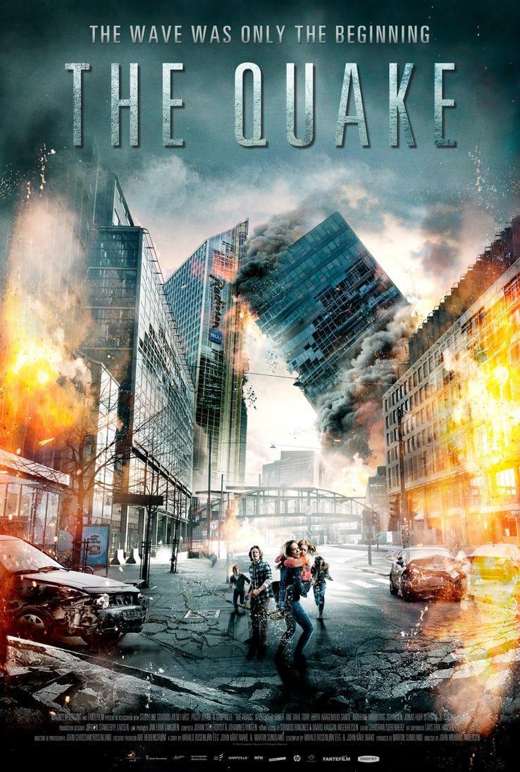The Quake: il poster del film norvegese