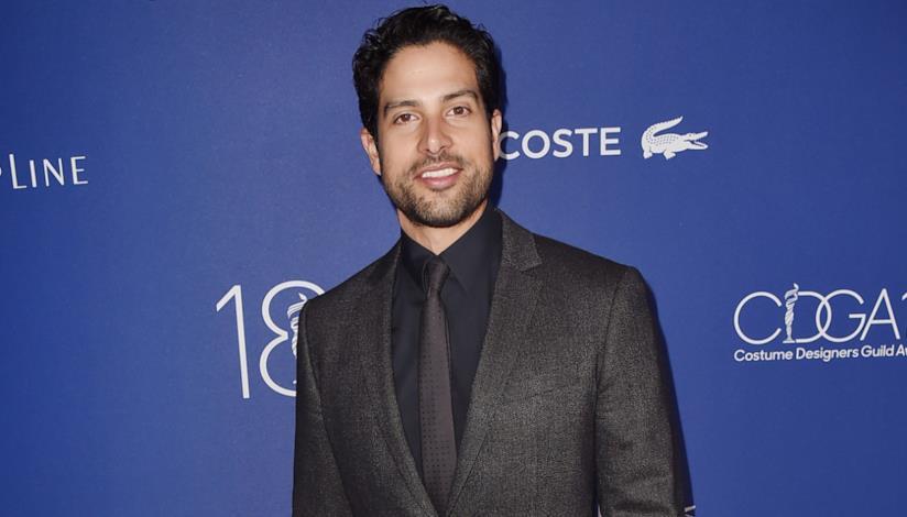L'attore Adam Rodriguez, Luke Alvez di Criminal Minds