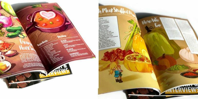 La rivista delle ricette di Zelda