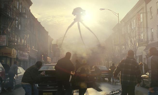 La Guerra dei Mondi scena film 2005