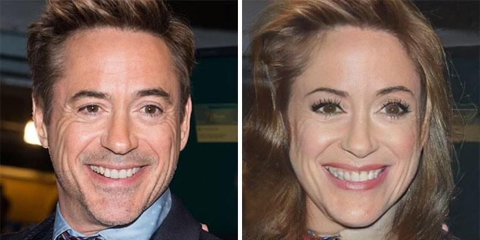 Da uomo a donna: la trasformazione di Robert Downey Jr.