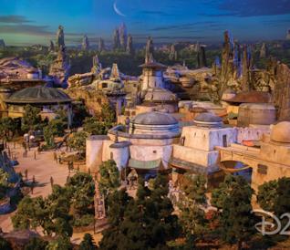 Galleria per Star Wars Land