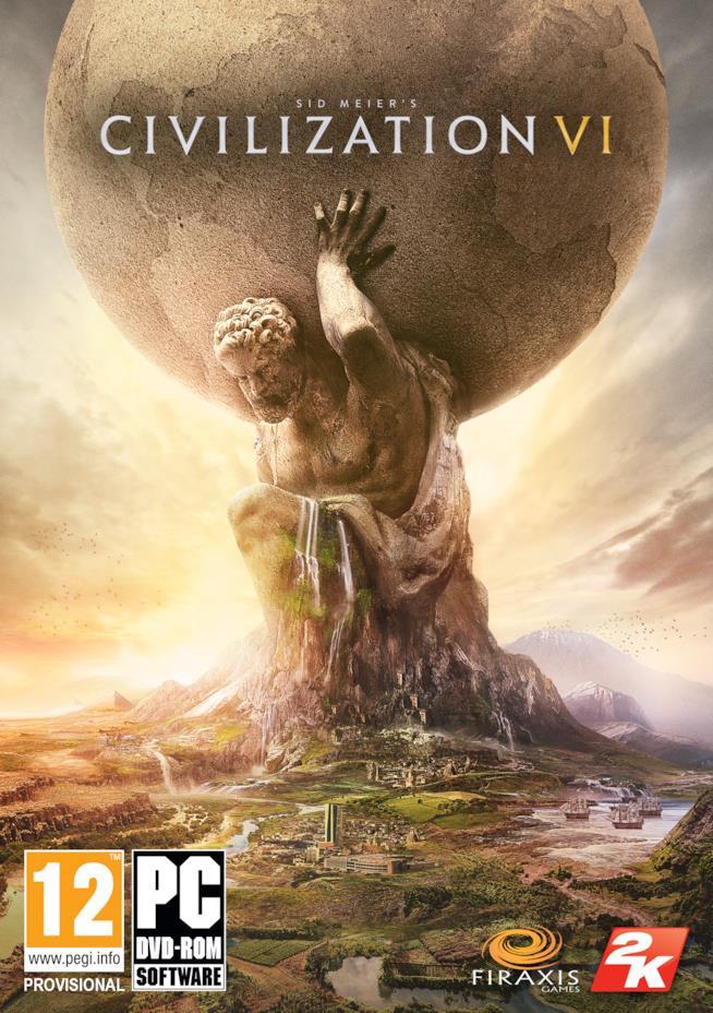 2K annuncia Sid Meier's Civilization 6
