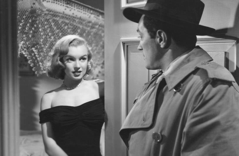 Marilyn Monroe in una scena del film