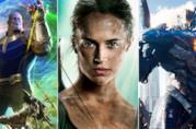 Infinity War, Tomb Raider e Pacific Rim 2