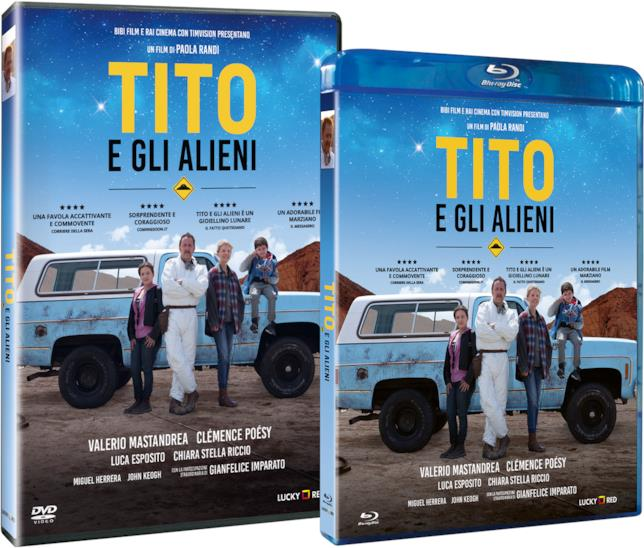 Tito e gli Alieni sarà disponibile in DVD e blu-ray