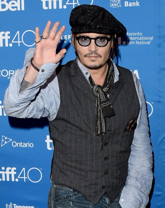 Johnny Depp al TIFF