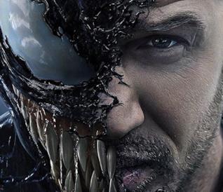 Poster di Venom con Tom Hardy