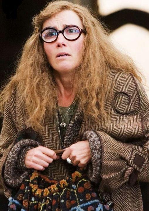 Sibilla Cooman in una scena di Harry Potter