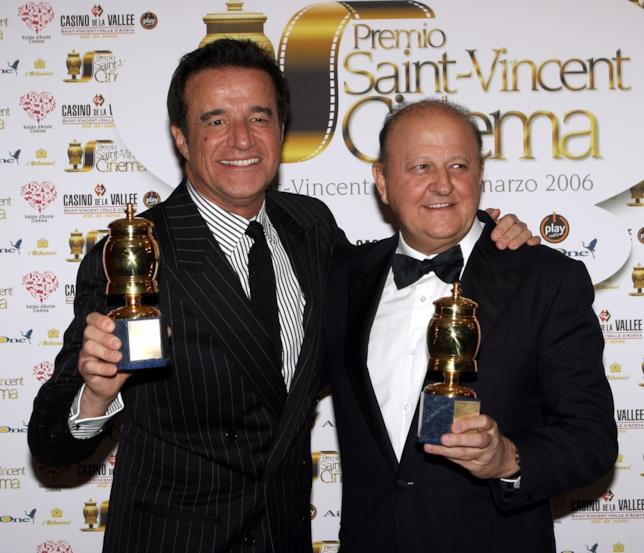 Christian De Sica e Massimo Boldi a Saint-Vincent