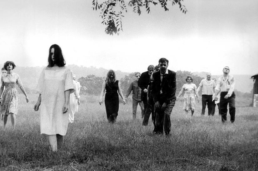 Un'immagine de La notte dei morti viventi, primo film di Romero