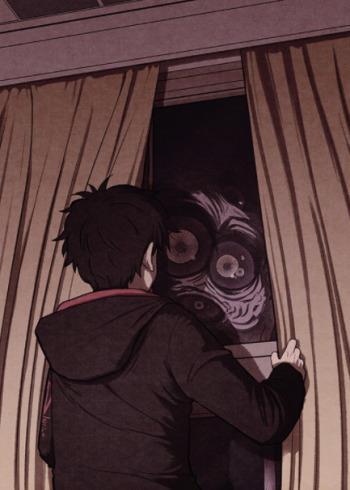 Un mostro al di là della finestra