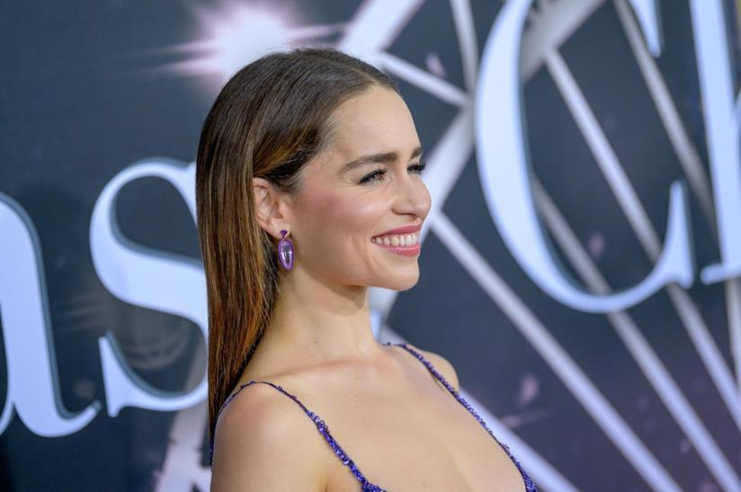 Una sorridente Emilia Clarke
