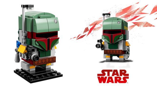 Dettagli del set LEGO BrickHedaz: Boba Fett