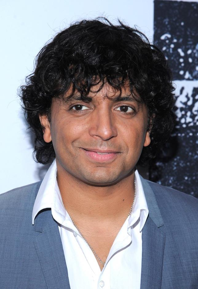M. Night Shyamalan in primo piano