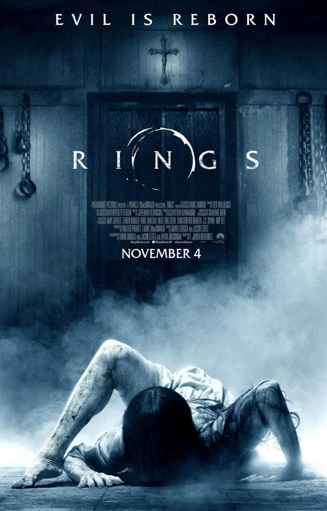 Il proster di Rings, horror diretto da