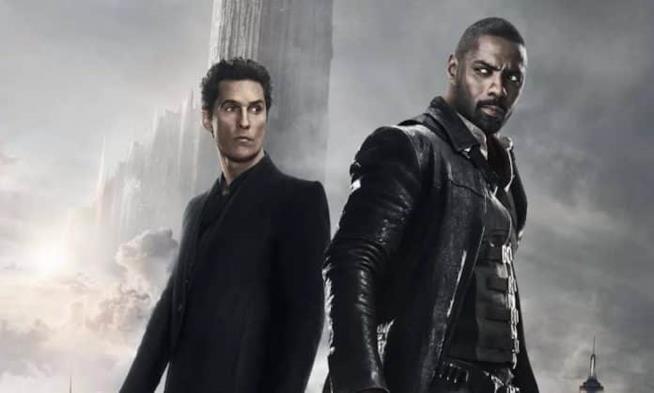 Matthew McConaughey e Idris Elba in un'immagine del film La Torre Nera