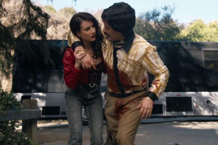 American Horror Story: 1984. Brooke aiuta Trevor