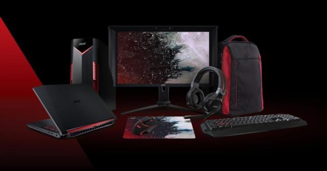 Acer presenta i nuovi gadget Nitro per i videogiocatori