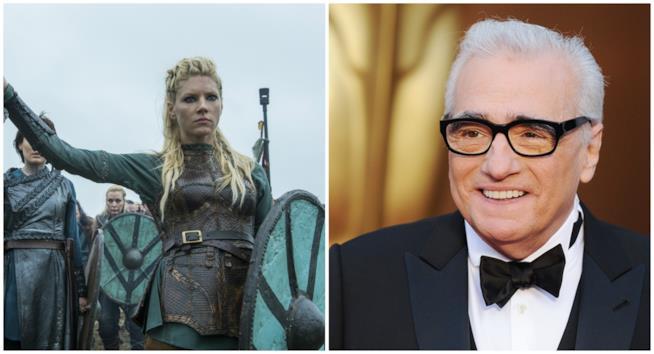 Martin Scorsese e scena di Vikings