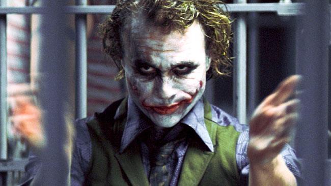 Il Joker dietro le sbarre ne Il Cavaliere Oscuro